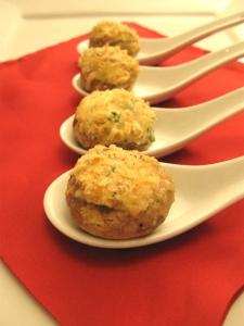 Round Potluck - Stuffed Mushrooms