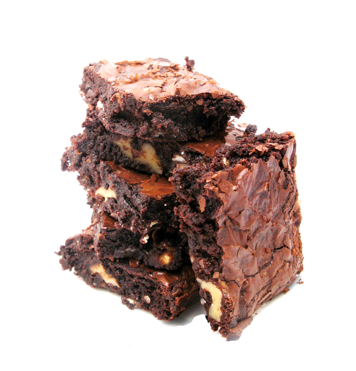 Cocoa Brownies with Browned Butter and Walnuts (1/6)