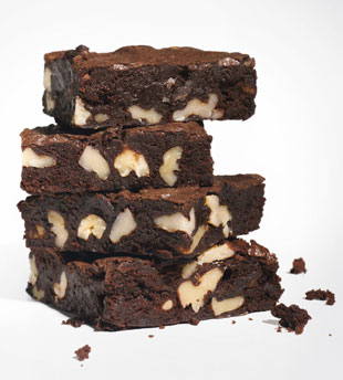 Cocoa Brownies with Browned Butter and Walnuts (2/6)