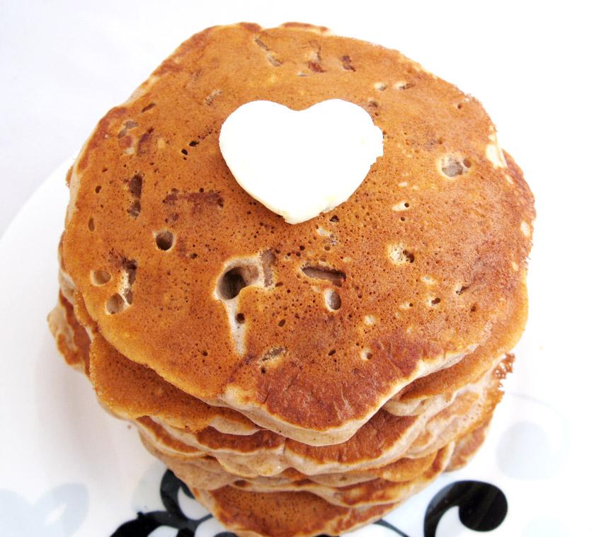 Cinnamon Apple Pancakes (5/6)