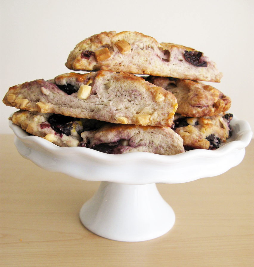 Cherry White Chocolate Scones | Raptor Toe - Food, Baking ...